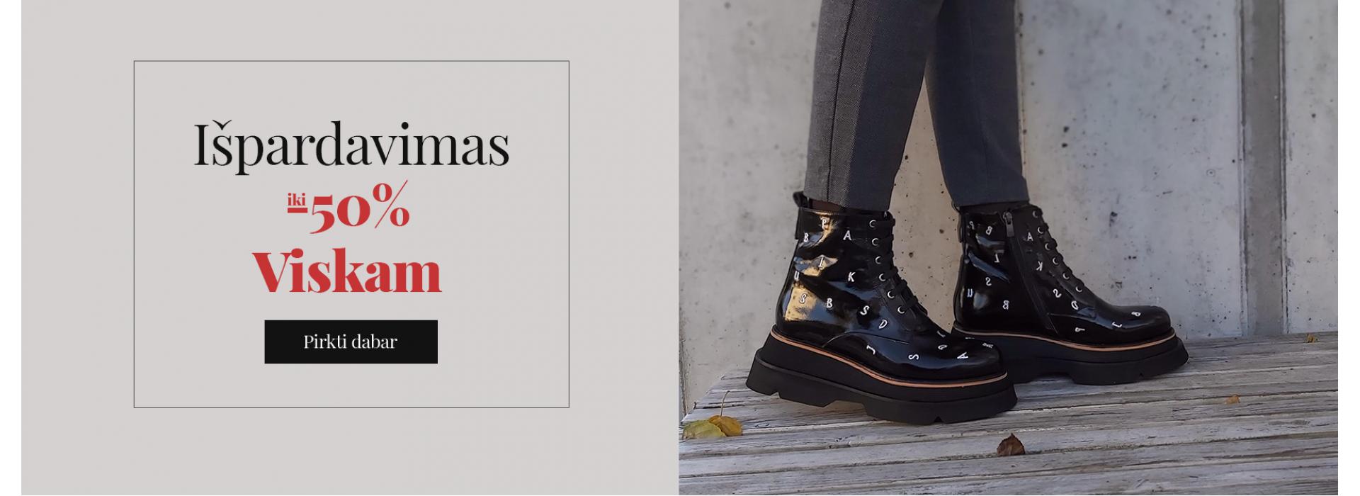 Batų išpardavimas