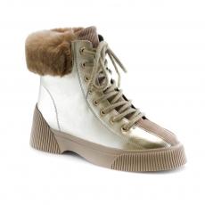 ivory colour women winter shoes