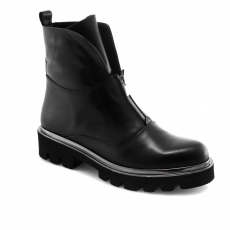 Black colour women ankle boots
