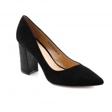 Black colour women formal shoes