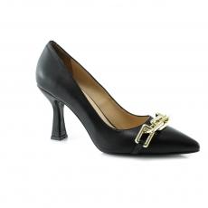 черные  женские выходные туфли