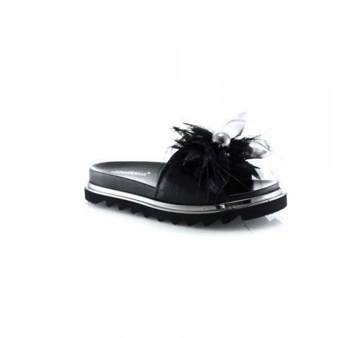 Juodos spalvos moteriškos basutės