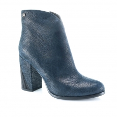 Blue colour women ankle boots