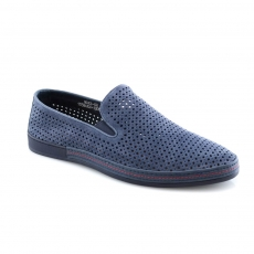 Blue colour men open shoes