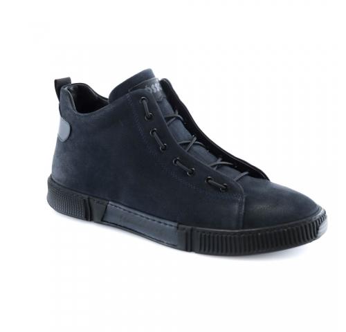 Mėlynos spalvos vyriški  žieminiai batai