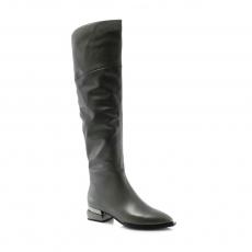 Grey colour women boots