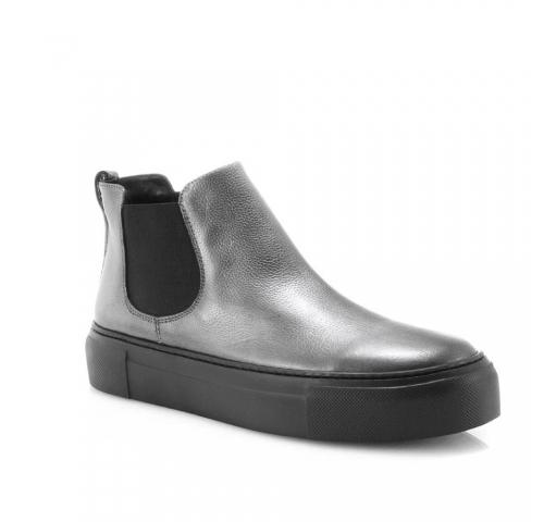 Pilkos spalvos moteriški laisvalaikio batai