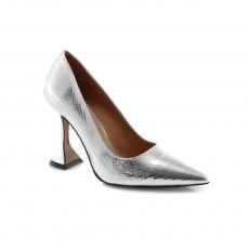 Grey colour women formal shoes