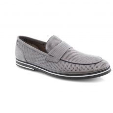 Grey colour men open shoes