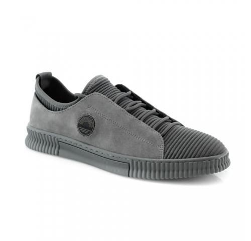 Pilkos spalvos vyriški  klasikiniai batai