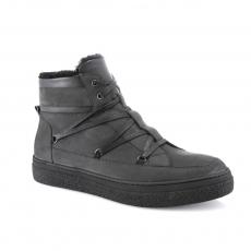 Pilkos spalvos vyriški  žieminiai batai