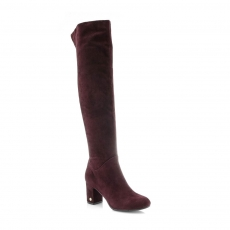 Red colour women boots
