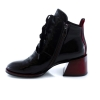Red colour women winter shoes