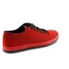 Raudonos spalvos vyriški atviri batai