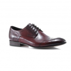 Red colour men  classic shoes