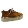 Brown colour women court shoes