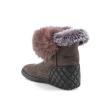 Rudos spalvos moteriški žieminiai batai