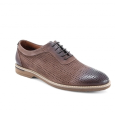 Brown colour men open shoes