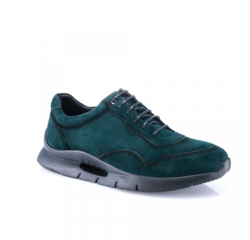 Žalios spalvos vyriški  laisvalaikio stiliaus batai